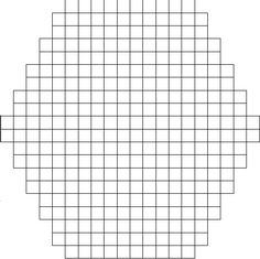 blank hexipuff chart found at knit three together Knitting Graph Paper, Circular Knitting Patterns, Knitting Charts, Knitting Stitches, Printable Graph Paper, Yarn Crafts, Quilting Projects, Quilt Patterns, Knit Crochet