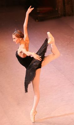 Svetlana Zakharova of the Bolshoi Ballet