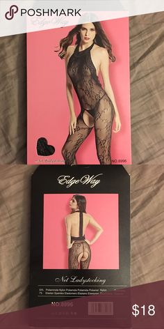 Lace body stocking Sexy lacy body stocking.          Thong not included Intimates & Sleepwear