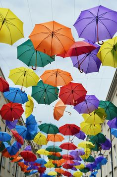 Umbrellas at Southgate, Bath  Photography by rachel