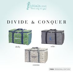 Divide & Conquer the party! With 2 removable dividers and 4 open mesh pockets in each divider you will have everything under control. The bottom and sides are reinforced to help with a heavier load.
