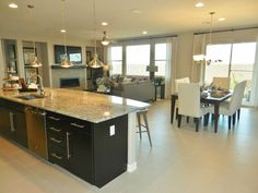 Rincon model by Richmond American Homes in Cadence. Richmond American Homes, Kitchen, Model, House, Ideas, Home Decor, Cooking, Decoration Home, Cucina