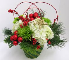Worcester florists - Sprout: Christmas Flowers 2011
