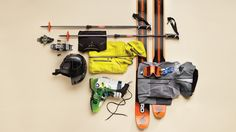 In-bounds touring—in which skiers ditch the lifts and slap on climbing skins, like the Fischer Profoils, to get up the mountain—is catching on everywhere. Here's the ski gear you need.