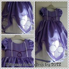 Princess Sofia dress tutorial. Good tutorial for DIY petticoat