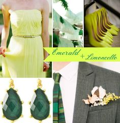 True Event- Emerald and Limoncello, Color of 2013, wedding color, gold (www.trueevent.com)