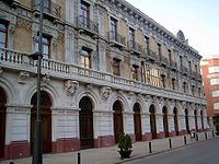 La Unión (España) - Casa del Piñón. Eclecticismo beaux-arts,