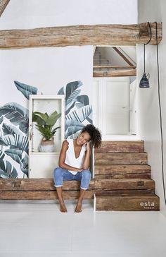 Grote Foto Op Muur.27 Beste Afbeeldingen Van Grote Muur Painted Wood Painting On