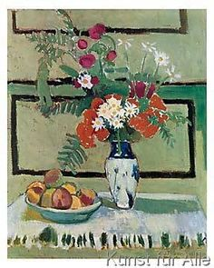 Henri Matisse - Blumen und Früchte, 1909