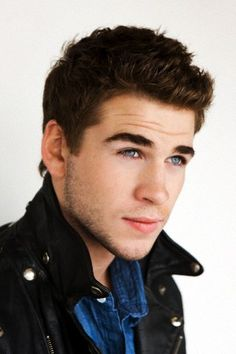 Liam Hemsworth... Okay, so this is just hot. I mean like seriously I don't even have anything meaningful to say. He is just straight up hot. Yeah, okay. Well, he is also a good actor! And, he's hot...;)