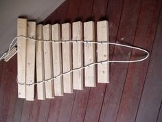 2x4 Xylophone : 3 Steps (with Pictures) - Instructables Preschool Music, Teaching Music, Farmers Porch, Diy Playground, Music Station, Outdoor Classroom, Music Wall, Toy Craft, Wooden Diy