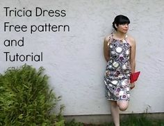 Tricia dress free pattern and tutorial: how to make the perfect dress