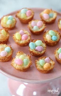 Coconut Macaroon Nests a classic dessert recipe for celebrating spring and Easter | Inspired by Charm