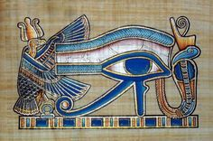Horusauge http://german.alibaba.com/product-gs/egyptian-papyrus-paintings-god-horus-eye-148239889.html