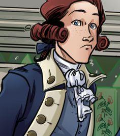 Alexander Hamilton The Dreamer Alexander Hamilton Fanart, Alternative Comics, Historia Universal, Sing For You, Hamilton Musical, What Is Your Name, Lin Manuel Miranda, Founding Fathers, American Revolution