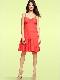 Kelly? Tiered dress | Gap