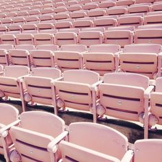 Bleached bleachers by Sallie Harrison in Abstract Pantones