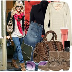 """Celebrity Street style :Sienna Miller"" by fashionmint on Polyvore"