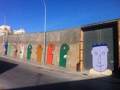 Graffitis realizados para embellecer las calles de Melilla.
