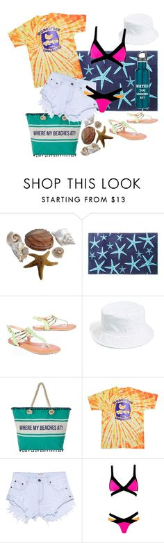 """""""Phoenix goes to the beach"""" by phoenixrising-1 ❤ liked on Polyvore featuring Amici Accessories, OneTeaspoon and Agent Provocateur"""