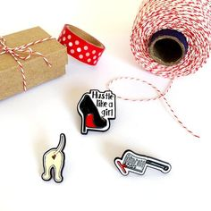 Playfully Sweet & Sassy Cards - Retail & Wholesale by YellowDaisyPaperCo Dog Pin, Papers Co, Black Trim, Girls Be Like, Card Sizes, Lapel Pins, Paper Goods, Sassy, Etsy Seller