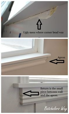 How To Install Window Trim And Sills!