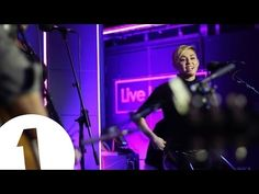 You already know she was gon eat this.  Miley Cyrus covers Summertime Sadness in the Live Lounge - YouTube