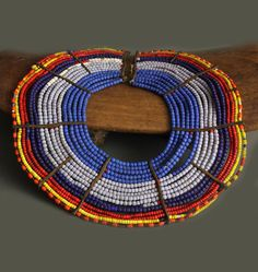 Kenya | Necklace / neck ornament from the Pokot people | ca. 1950s or earlier | 375£
