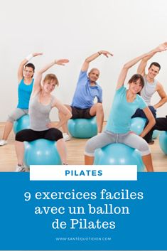 Exercices Swiss Ball, Swiss Ball Exercises, Yoga Gym, Qigong, Zumba, Workout Videos, Yoga Poses, Gym Workouts, Muscle