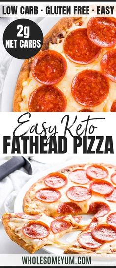 Weight Loss Plans Military An EASY low carb keto Fathead pizza crust recipe with coconut flour OR almond flour. Just 4 INGREDIENTS! Fathead pizza is the ultimate keto pizza - crispy, chewy, and ready in 20 minutes. Keto Foods, Ketogenic Recipes, Low Carb Recipes, Pizza Recipes, Ketogenic Diet, Cheese Recipes, Crockpot Recipes, Keto Cheese, Cheese Bread