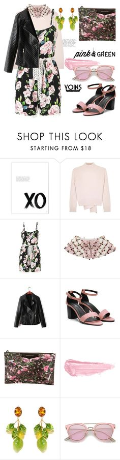 """The garden variety with yoins"" by pensivepeacock ❤ liked on Polyvore featuring xO Design, Alexander McQueen, Emilia Wickstead, Givenchy, By Terry, Dolce&Gabbana and MustHave"