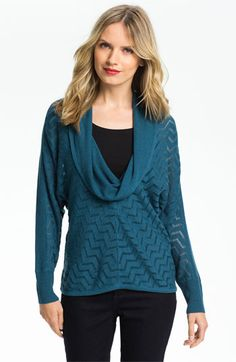 Holistia Cowl Neck Modal Blend Sweater available at #Nordstrom