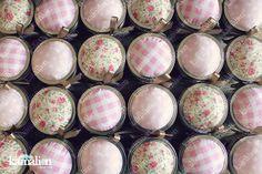 www.kamalion.com.mx - Recuerdos / Giveaways / Detalles Personalizados / Vintage / Bautizo / It's a girl / Rosa / Pink / Kit de costura / Sewing kit / Costureros / Mason jar.