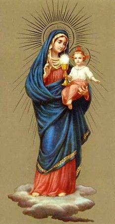 mages pieuses (La Vierge et l'Enfant)