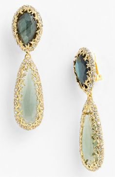 Alexis Bittar 'Elements - Siyabona' Drop Clip Earrings available at #Nordstrom $295.00