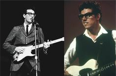 Buddy Holly | 20 Biopic Actors And Their Real-Life Counterparts