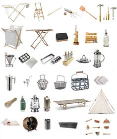 Plastic free, zero waste alternatives to household items, from camping and decor to kitchen, utility and laundry