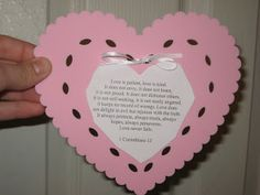 valentine's day bible object lesson