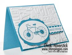 stamp sets, bicycl, papercraft card, note cards, celebration stamp cycle