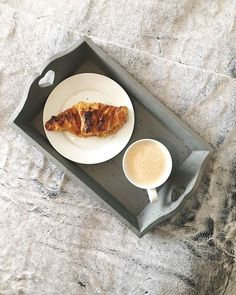 You just cant beat a cup of coffee and butter croissants at the weekend for breakfast (albeit a little burnt) Happy Saturday! So what are you up to this weekend? Butter Croissant, Flat Lay Photography, Croissants, Happy Saturday, Griddle Pan, Coffee Cups, Baking, Breakfast, Morning Coffee