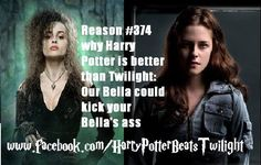 She wouldn't have the chance coz they're bella would hide behind Edward.