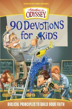 90 Devotions for Kids (Adventures in Odyssey). the boys love adventures in odyssey Adventures In Odyssey, Devotions For Kids, Bible Lessons, Way Of Life, My Children, Children Stories, Sunday School, Parenting, Faith