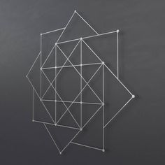 Spiraling Squares Abstract Metal Wall Art Sculpture, Modern Metal Wall Art, Large Metal Wall Decor, Sacred Geometry Wall Art, Loft Wall Art, #Abstract #Art #Decor #Geometry #Large #Loft #Metal #Modern #Sacred #Sculpture #Spiraling #Squares #Wall