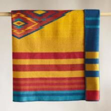A Pendleton Woolen Mills® throw blanket to please the eye and warm the body.