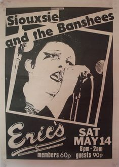 Siouxsie & The Banshees...1977.....