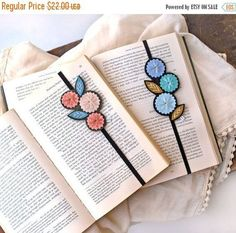 Bookmark Set - Great Gift for Teacher - Book Lover Gift - Book Club Gift - Gift for Bookworm - Gift for Readers - Teacher Gift - Unique Bookmark – Bookmark Set – Felt Bookmark – Hand Embroidered Bookmark – Teacher Gift - Bookmarks For Books, Creative Bookmarks, Diy Bookmarks, Crochet Bookmarks, Felt Bookmark, Bookmark Craft, Bookmark Ideas, Gifts For Bookworms, Gifts For Readers