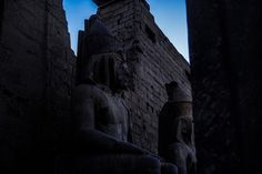 The mood : Nile valley in the shadows, Egypt ,  #bynight #columns #dp2q #egypt #nile #nilecruise #nilevalley #quattro #sigma #sphinx #temple #themood #voyageursdumonde