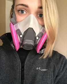 Gas Mask Girl, Hazmat Suit, Gas Masks, Respirator Mask, Rubber Gloves, Cyberpunk Fashion, Human Eye, Cybergoth, Housewife