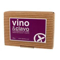 Jabón de Vino y Clavo | Ajedrea Cosmética Natural