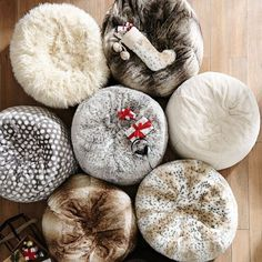 This furlicious bean bag. | 31 Fluffy Things That Hate The Cold Just As Much As You Do